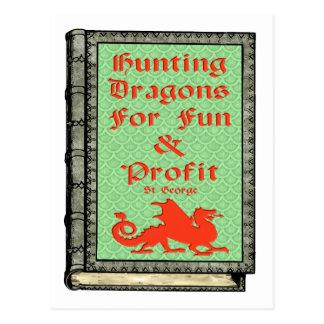 Hunting Dragons Postcard