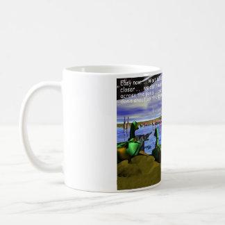 Hunting, Duck Hunting, Ducks with Machine Guns Coffee Mug