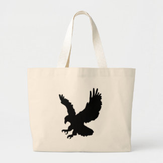 Hunting Eagle Large Tote Bag