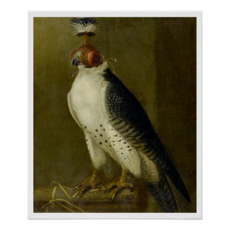 Hunting Falcon - 17th century Posters