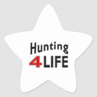 Hunting For Life Star Sticker