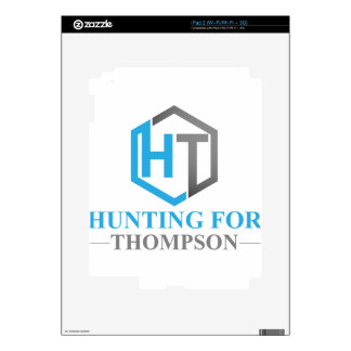 Hunting For Thompson iPad 2 Decal