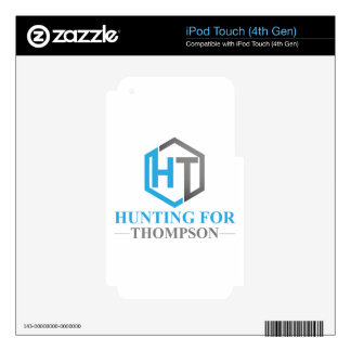 Hunting For Thompson iPod Touch 4G Skins