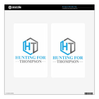 Hunting For Thompson Kindle Fire Decals