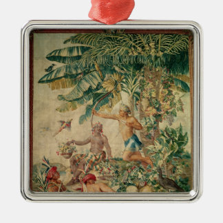 Hunting, from the 'Tenture des Nouvelles Christmas Tree Ornament