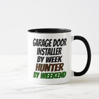 Hunting Garage Door Installer Mug