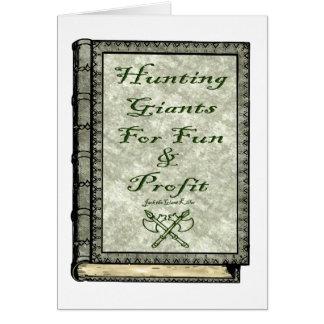 Hunting Giants Card