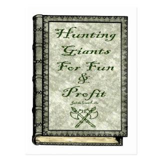Hunting Giants Postcard