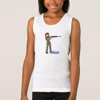 Hunting Girl Tank Top