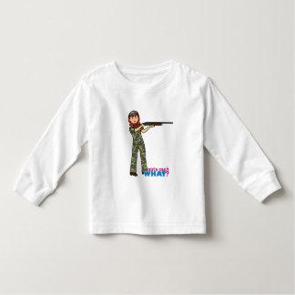 Hunting Girl Toddler T-shirt