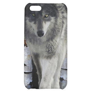 Hunting Grey Wolf Wildlife-supporter iPhone Case iPhone 5C Cases
