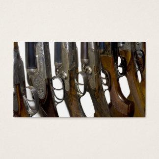 hunting guns business card