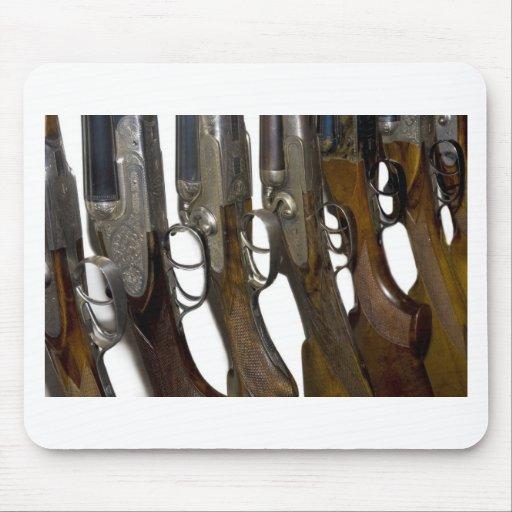 hunting guns mouse pads