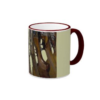 hunting guns coffee mug