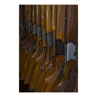hunting guns poster