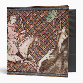 Hunting Hares from Ovide Moralise Vinyl Binders