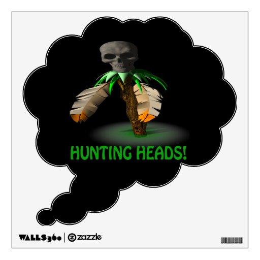 Hunting Heads Wall Skins