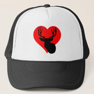 Hunting Heart Trucker Hat
