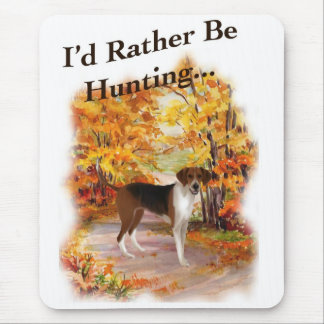 hunting hound dog mouse pad
