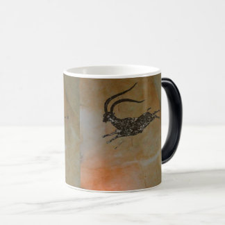 Hunting Ibex at Cova Remigia Magic Mug