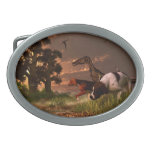 Hunting in the Age Gene Splicing Oval Belt Buckles