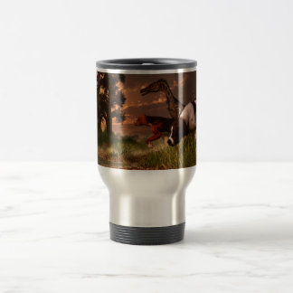 Hunting in the Age Gene Splicing Travel Mug