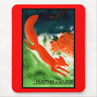Hunting in the USSR Mouse Pad