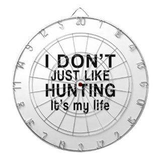HUNTING IS MY LIFE DARTBOARDS