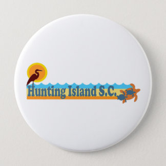 Hunting Island. Button