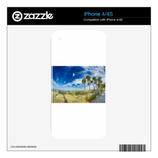 """hunting island ocean waterfront scenes """"south caro decals for the iPhone 4"""