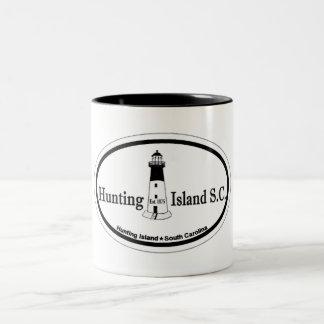 Hunting Island. Two-Tone Coffee Mug