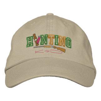 Hunting Kid Embroidered Baseball Hat