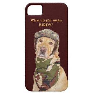Hunting Lab in Camouflage iPhone 5 Cases