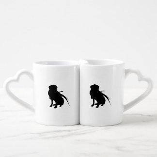 Hunting Labrador Retriever Silhouette Love Dogs Couples Coffee Mug