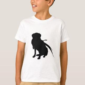 Hunting Labrador Retriever Silhouette Love Dogs T-Shirt