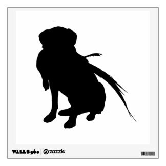 Hunting Dog Wall Decals Wall Stickers Zazzle - Sporting dog decals
