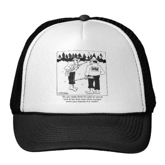 Hunting License 1040 Trucker Hat