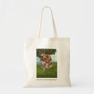 Hunting Lioness Tote Bag
