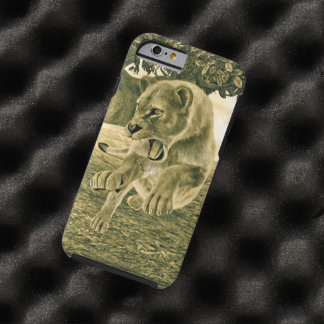 Hunting Lioness Tough iPhone 6 Case