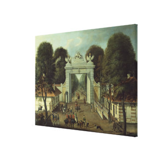 Hunting Lodge in Potsdam, c.1735 Gallery Wrapped Canvas