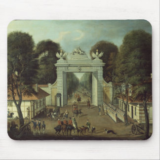 Hunting Lodge in Potsdam, c.1735 Mouse Pad