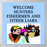 hunting lodge poster