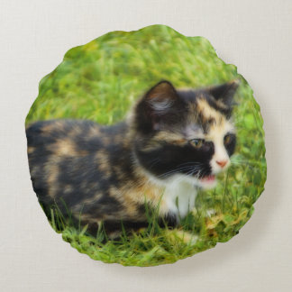Hunting Round Pillow