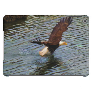 Hunting Mature Bald Eagle Wildlife Art iPad Air Cover