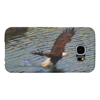 Hunting Mature Bald Eagle Wildlife Art Samsung Galaxy S6 Case