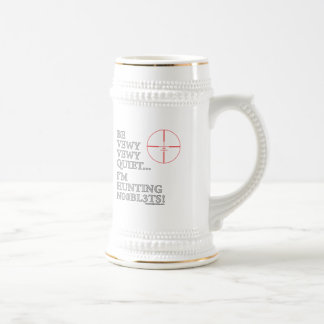 Hunting n00bl3ts coffee mug
