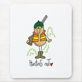 Hunting Nut Mouse Pad
