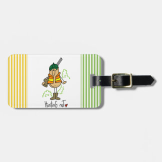 Hunting Nut T-shirts and Gifts Bag Tag