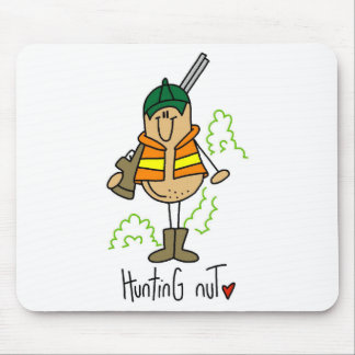 Hunting Nut T-shirts and Gifts Mouse Pad