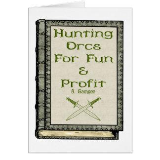 Hunting Orcs Card